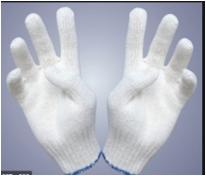 Găng tay vải sợi 10 kim